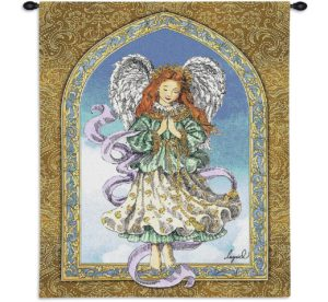 Guardian of Prayer   26 x 34   Woven Tapestry Hanging