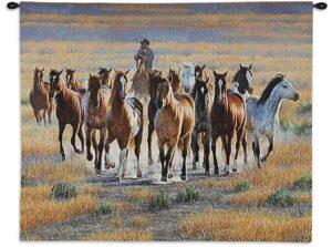 Bringing Em In (Horses)