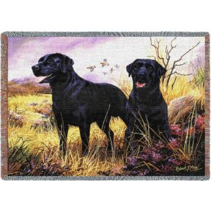 Black Lab | Tapestry Blanket | 70 x 54