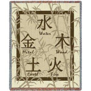 Feng Shui Blanket | 53 x 70