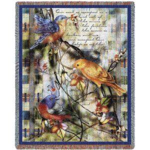 Joys Sanctuary | Afghan Blanket | 54 x 70