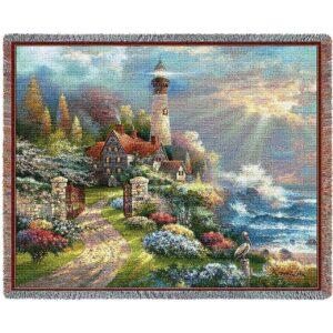 Coastal Splendor Contemporary | Throw Blanket