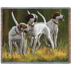 First Light Hounds (Dogs) Blanket | 54 x 70