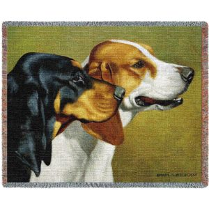 Coon Hunters (Dogs) | Throw Blanket