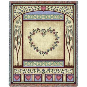 Love Quilt II | Woven Throw | 54 x 70