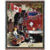 Canadian Childhood Dreams | Tapestry Blanket | 54 x 70