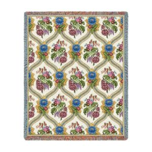 "Bouquet | Tapestry Blanket | 53"" x 70"""