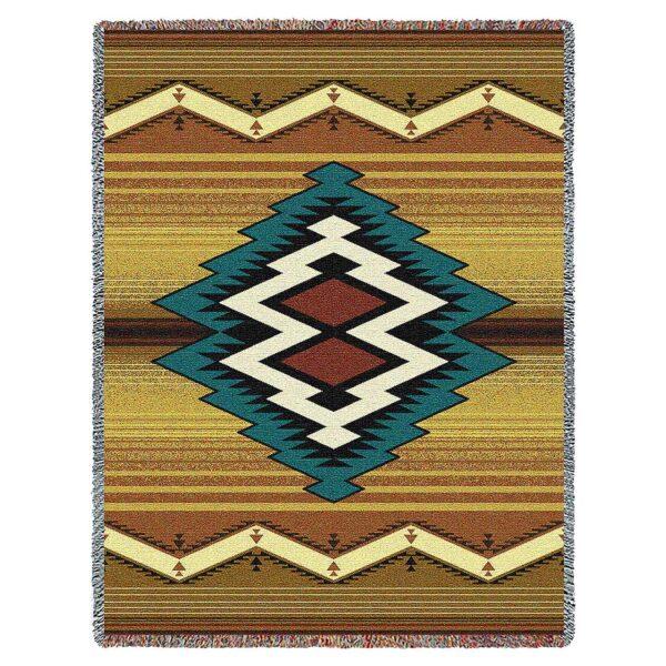 Southwestern Throw Blanket Custom Maimana Southwestern Throw Blanket 60 X 60 Southwest Art Home