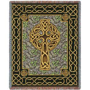 Celtic Cross | Woven Throw | 53 x 70