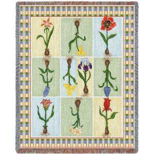 Floral Delight | Woven Throw | 54 x 70
