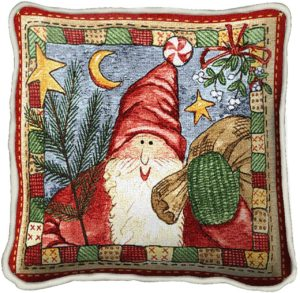 Waiting For Xmas | Christmas Throw Pillow | 17 x 17