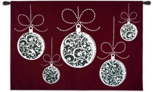 Ornamentatia Christmas Ornament | 80 x 53 | Tapestry