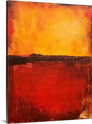 Tuscan of Dawn by Erin Ashley Art Print on Canvas