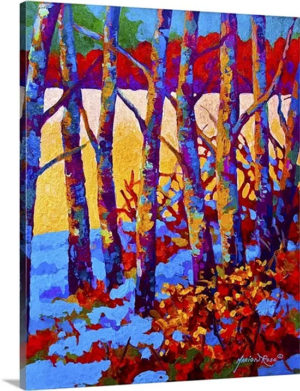 Winters Promise by Marion Rose Art Print on Canvas