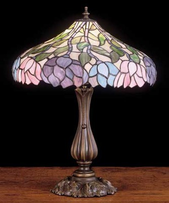 Wisteria tiffany stained glass table lamp table lamps tiffany wisteria tiffany stained glass table lamp aloadofball Choice Image