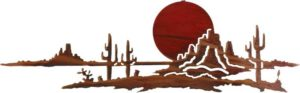 Southwestern | Arizona Sunset | Southwestern Metal Art