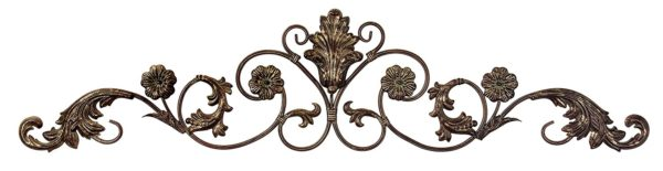 Classic Country Scroll Metal Wall Art