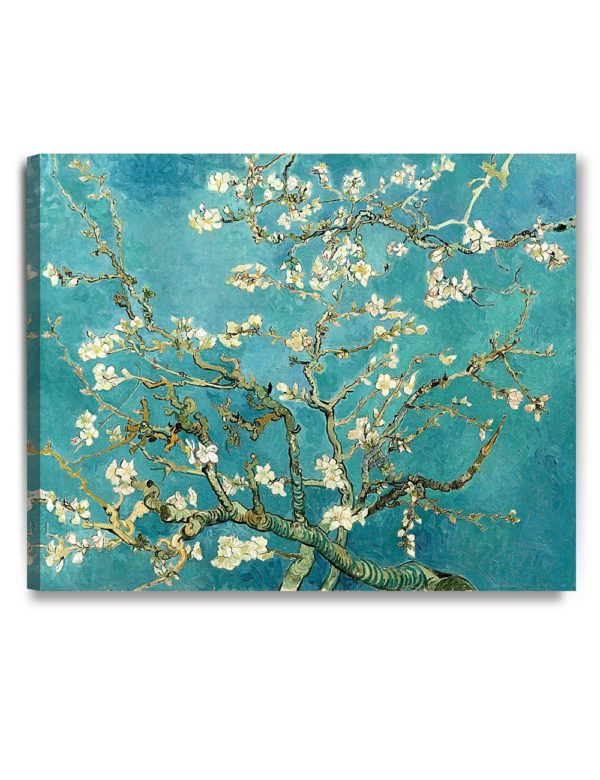 Blossoming Almond Tree | Vincent van Gogh | Gallery Wrapped Giclee Print on Canvas