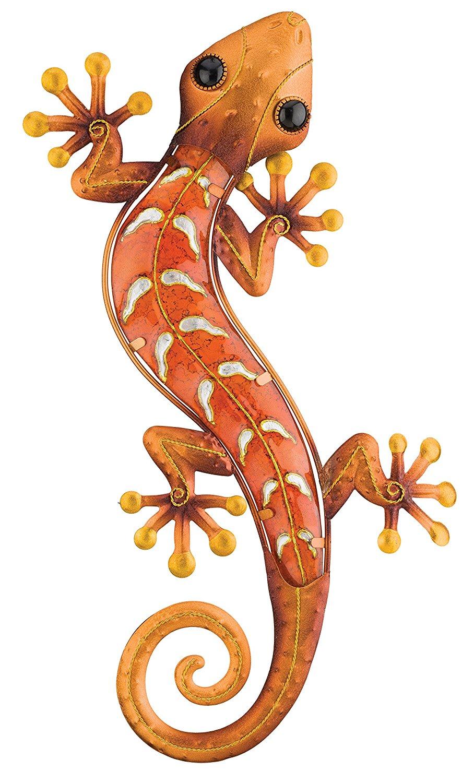Copper Gecko | Southwestern Metal Wall Art | Shop Home ...
