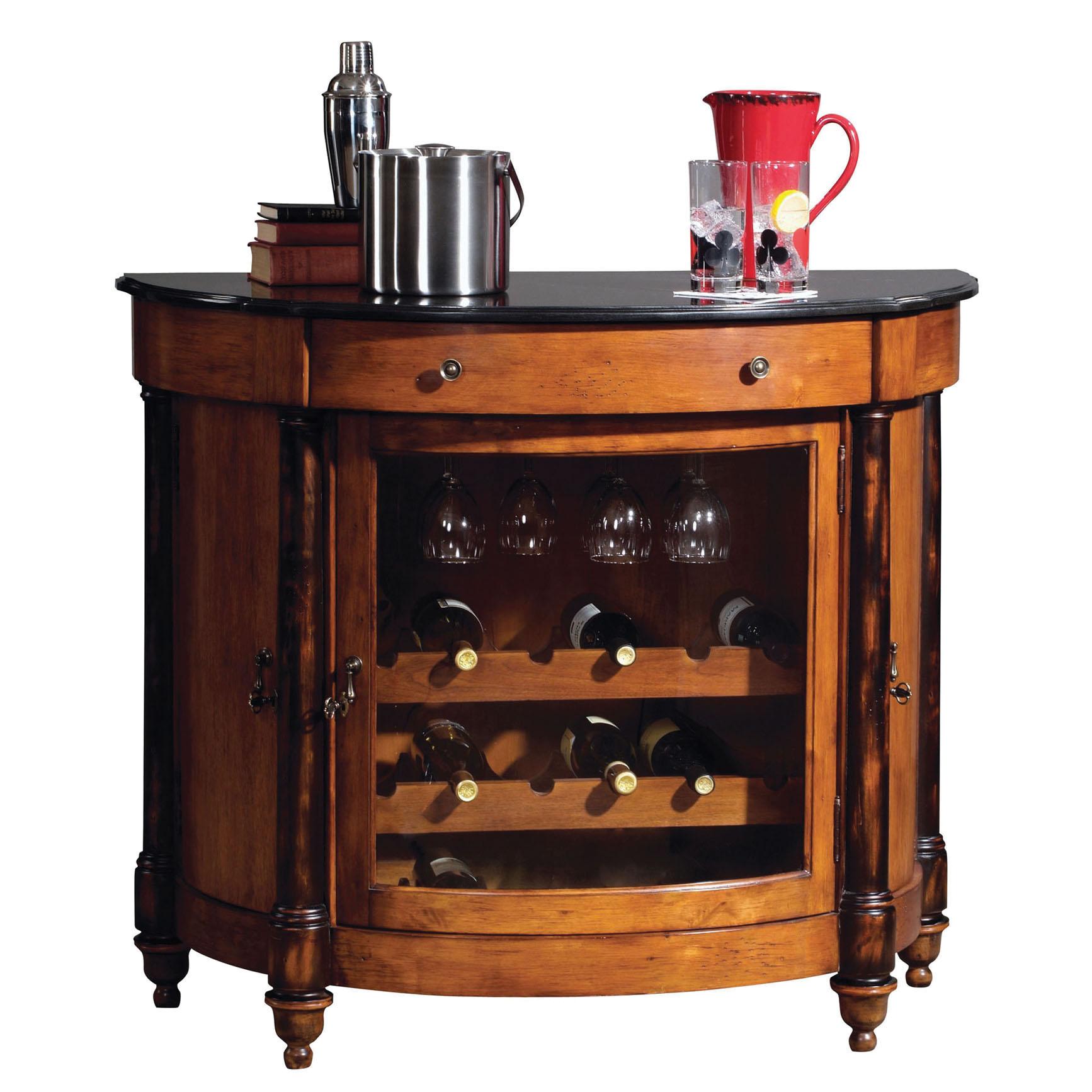 Unique Wine Racks | Howard Miller Merlot Valley Wine and Bar Cabinet