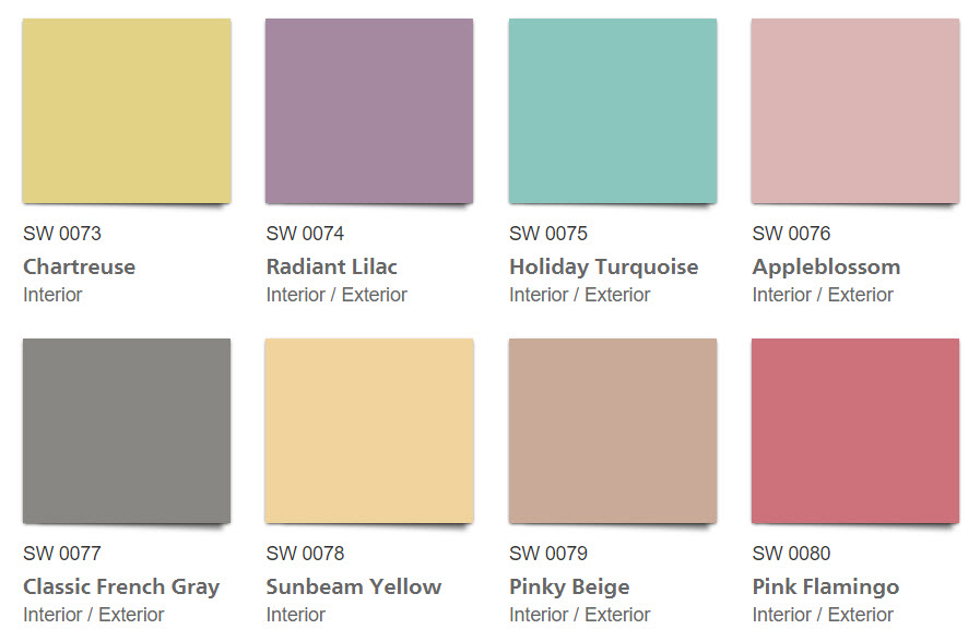1950s Paint Colors | Retro Home Decor