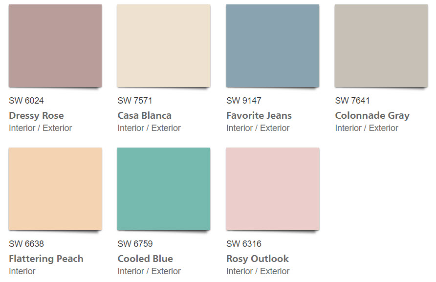 1980s Paint Colors | Retro Home Decor