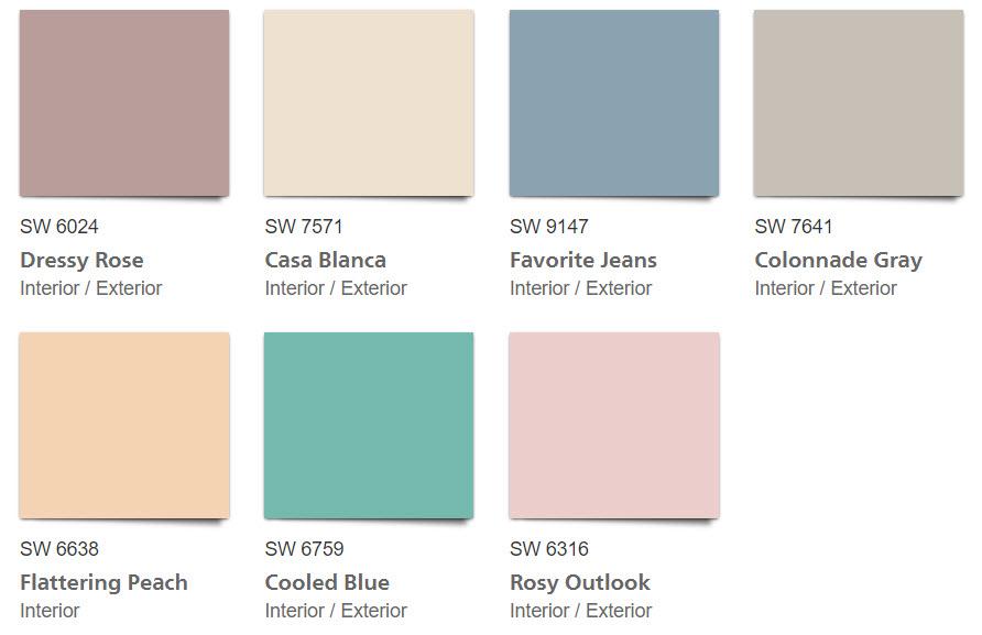 1980s Paint Colors | Retro Home Decor