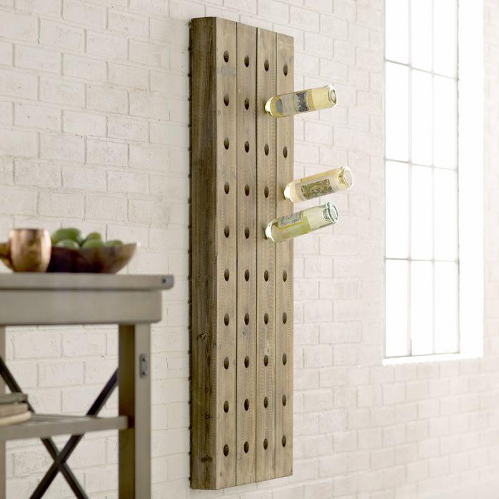 Unique Wine Racks | Wolpert 40 Bottle Wall Mounted Wine Rack