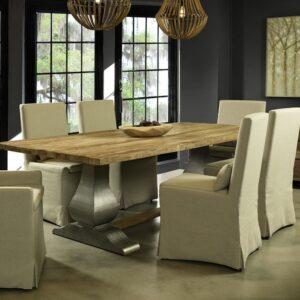 Gracie Oaks | Sunikka Reclaimed Teak Dining Table
