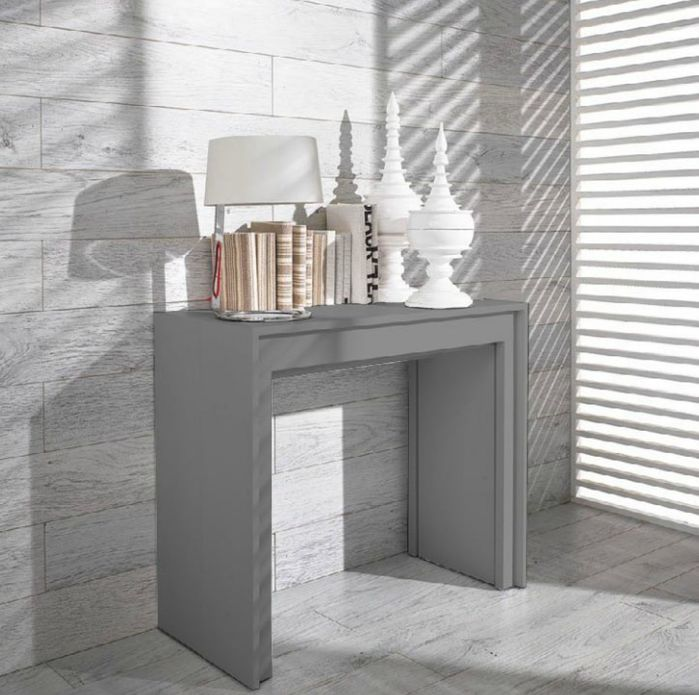 Multipurpose Furniture | Gerardo Ultra-Compact Extendable Dining Table