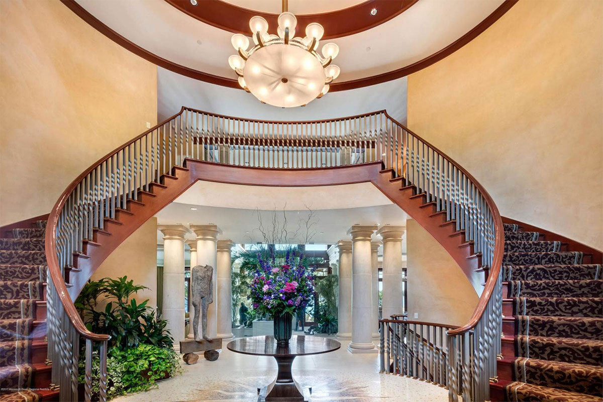 Grand Double Staircase