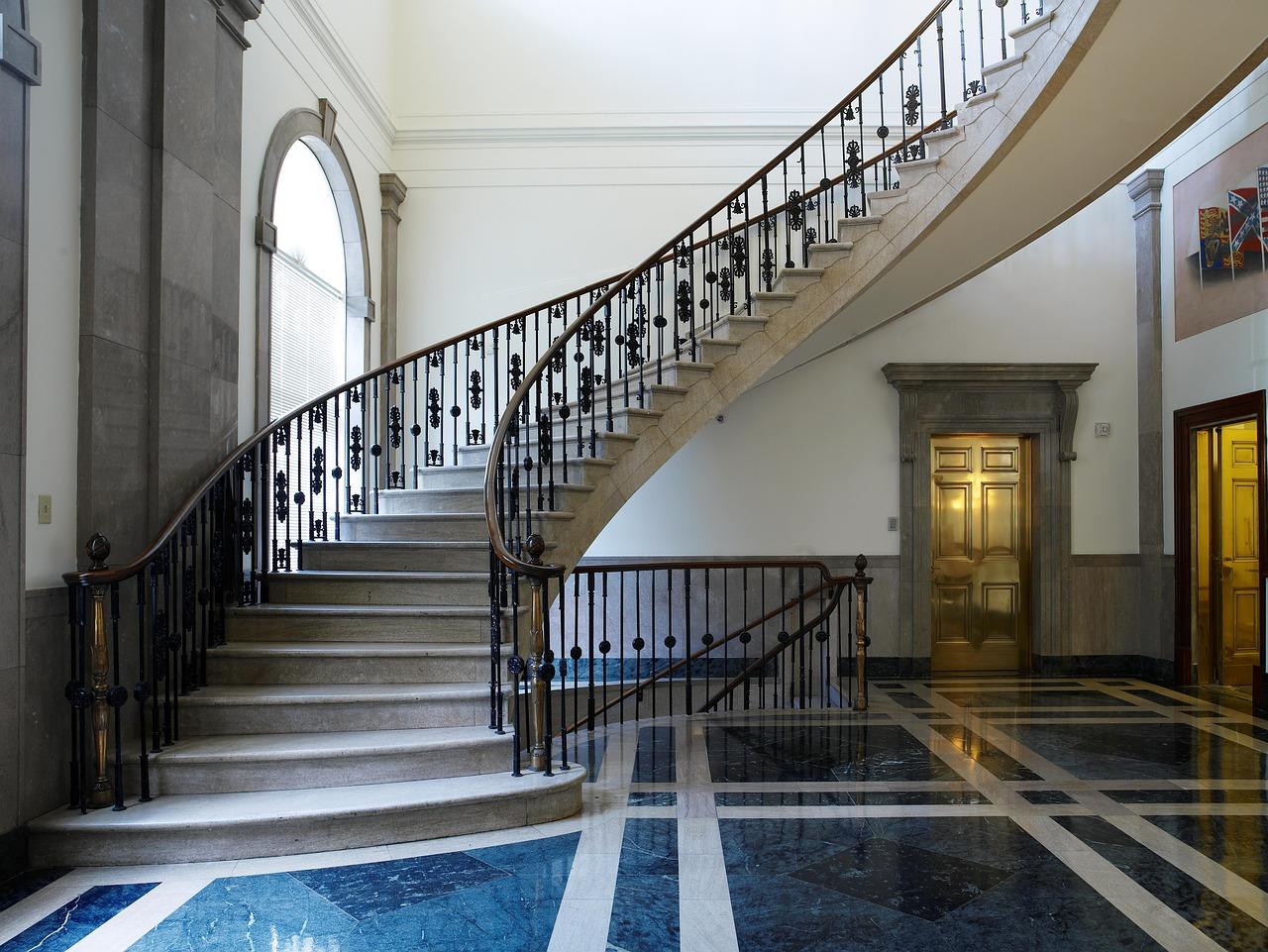 Incredibly elegant staircase