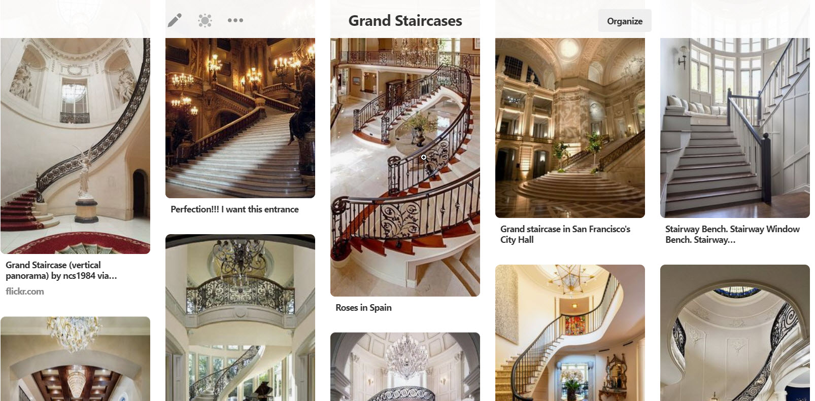 Grand Staircases Pinterest Board