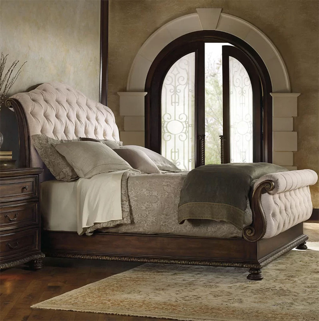Upholstered Sleigh Beds | Adagio California King Bed