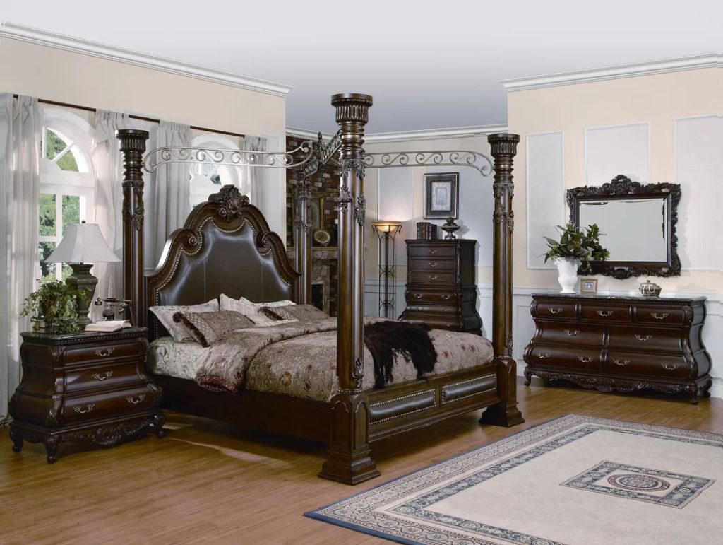 Classically Elegant Canopy Beds| Astoria Grand Alexandria Canopy Bed