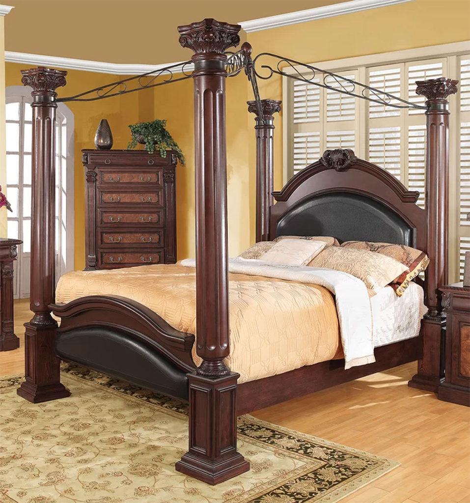 Classically Elegant Canopy Beds| Astoria Grand Fechteler Queen Bed