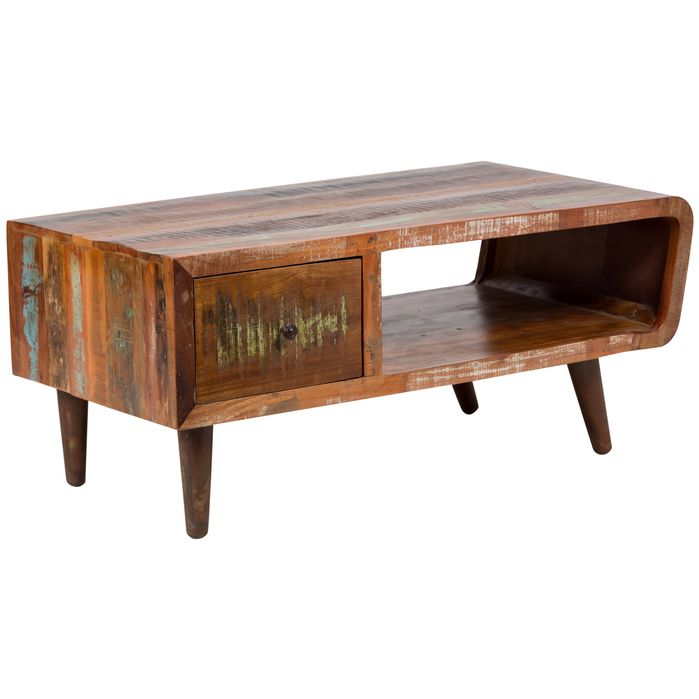Retro Wood Coffee Tables | Bloomsbury Market | Paloma Sustainable Coffee Table