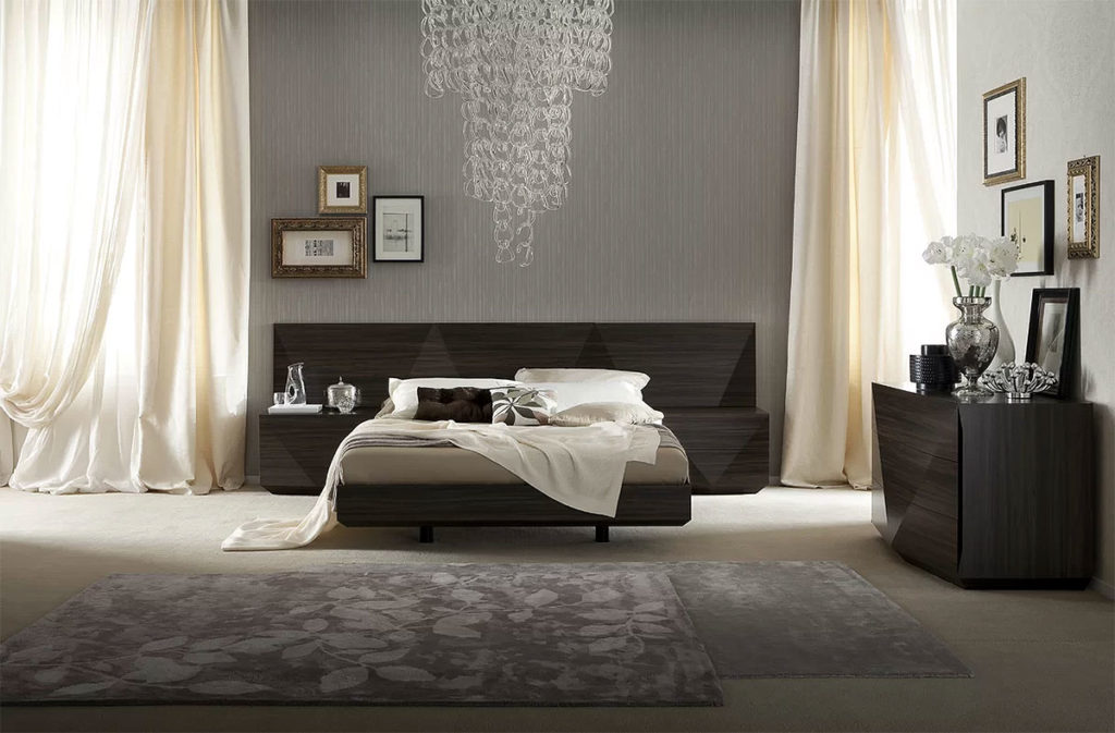Modern Sophisticated Bedroom