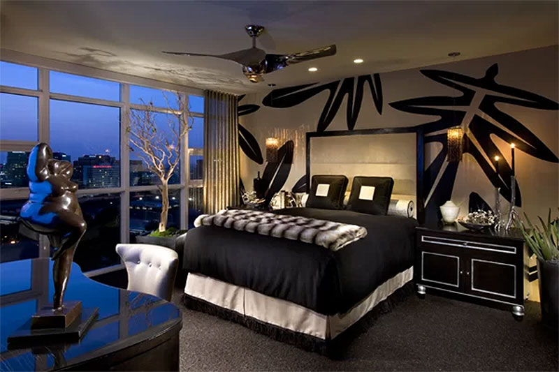 Urban Modern Bedroom Design