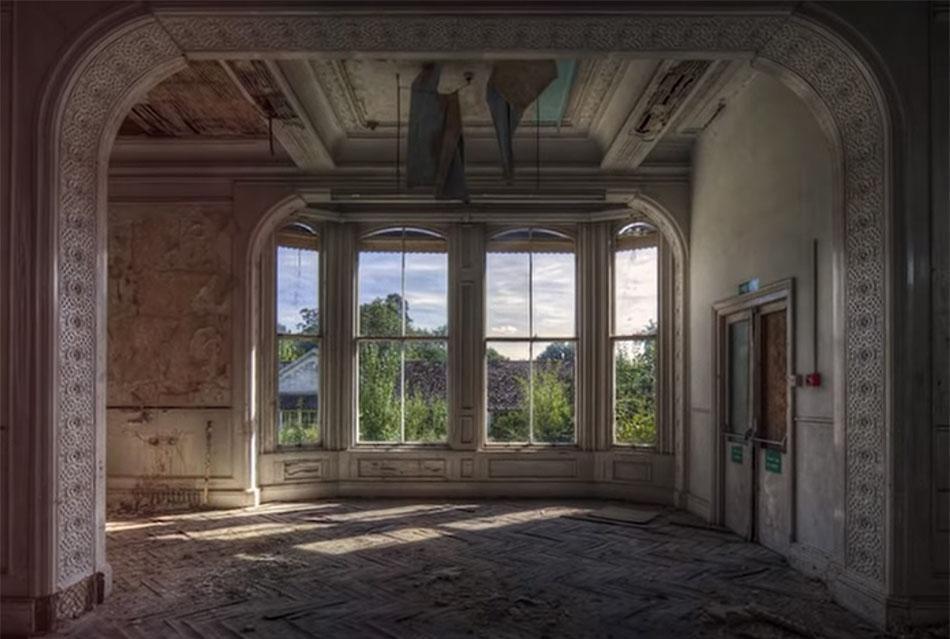 Abandoned Castle Window