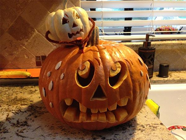 Creative Pumpkin Carving Ideas | Attack of the Killer Pumpkin