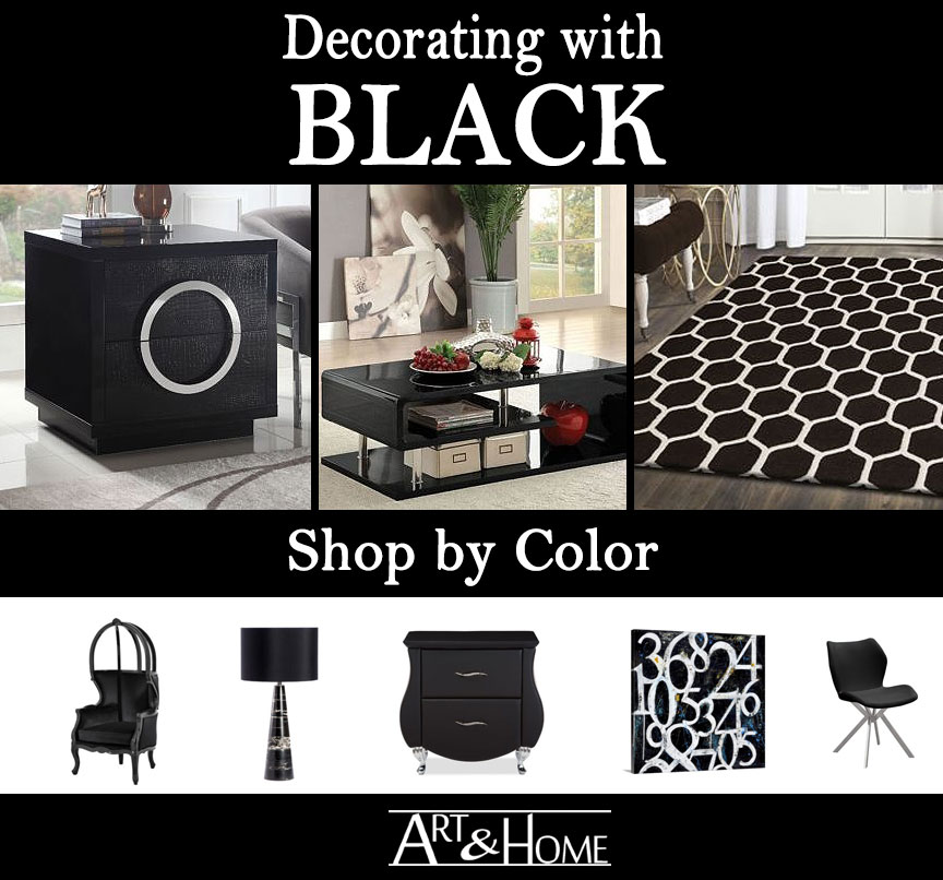 Black Furniture & Home Decor Accents