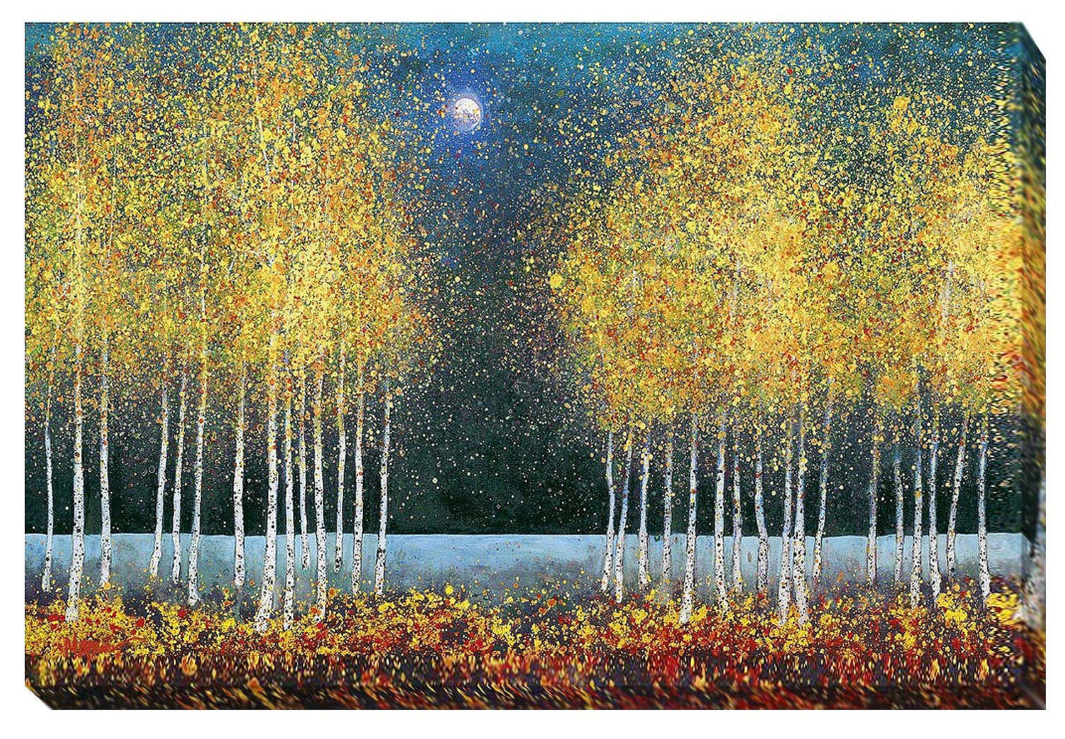 Blue Moon | Melissa Graves Brown | Gallery-Wrapped Canvas Art