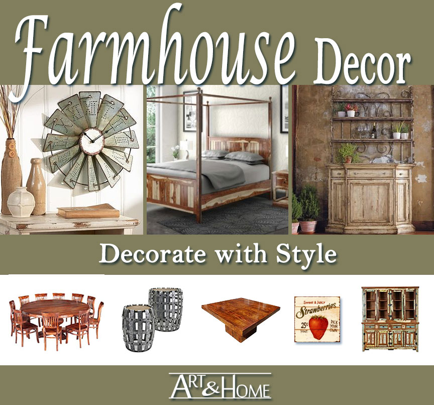 Farmhouse Furniture & Home Decor Accents