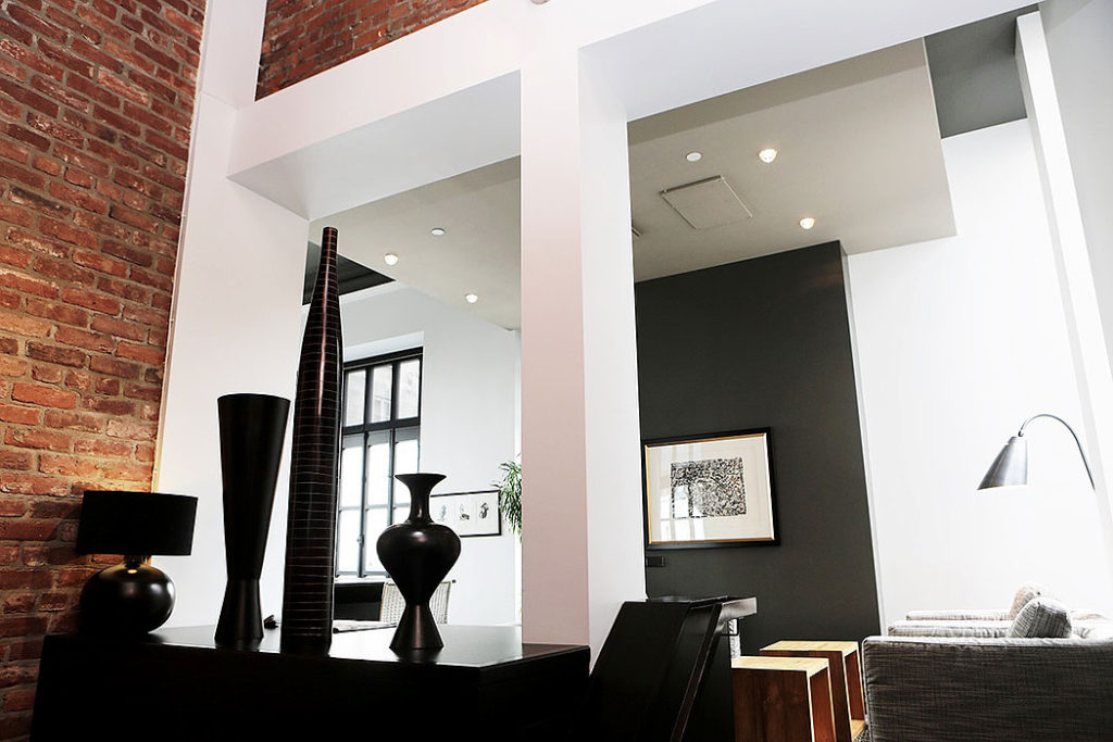 Modern Exposed Brick Loft