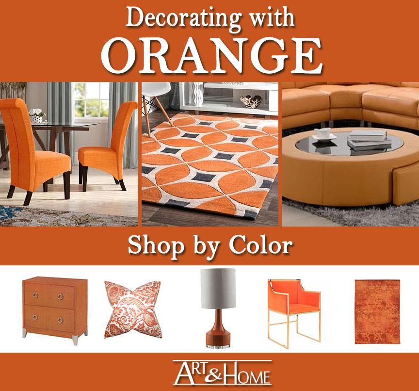 Orange Furniture & Home Decor Accents