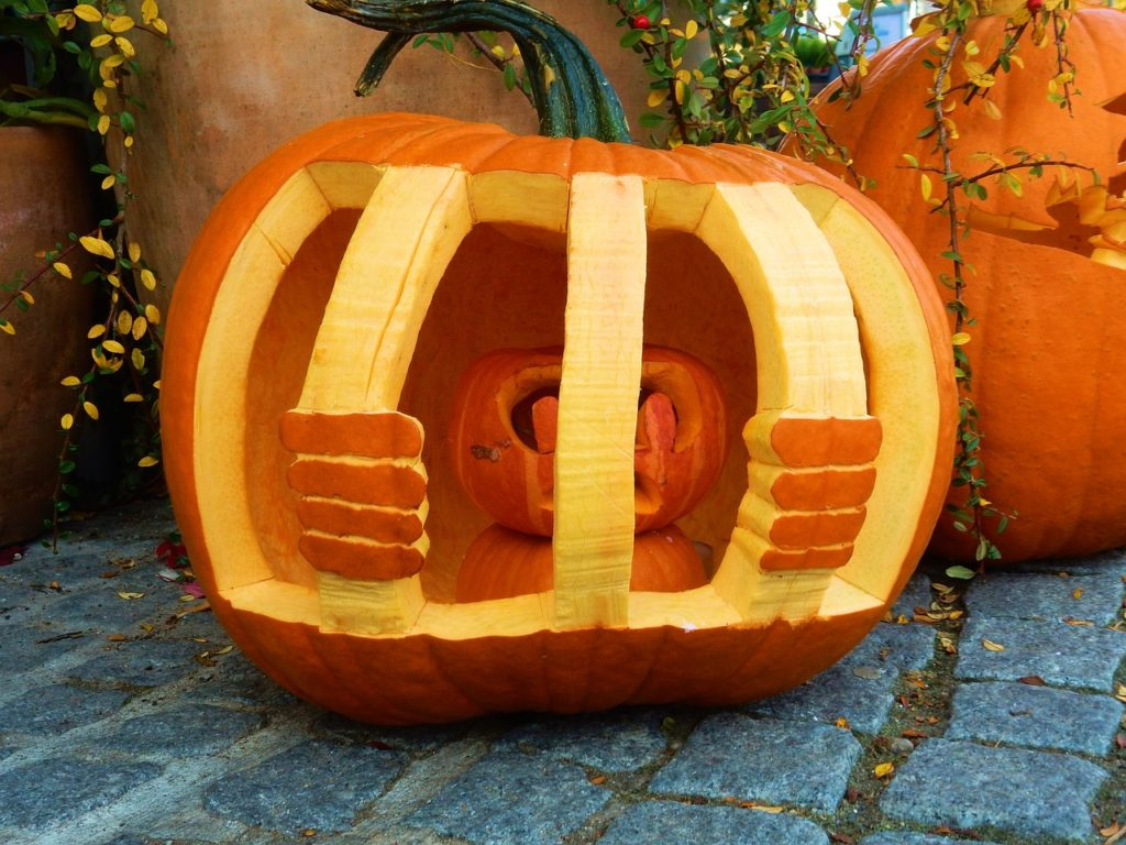 Creative Pumpkin Carving Ideas | Jailbird Pumpkin