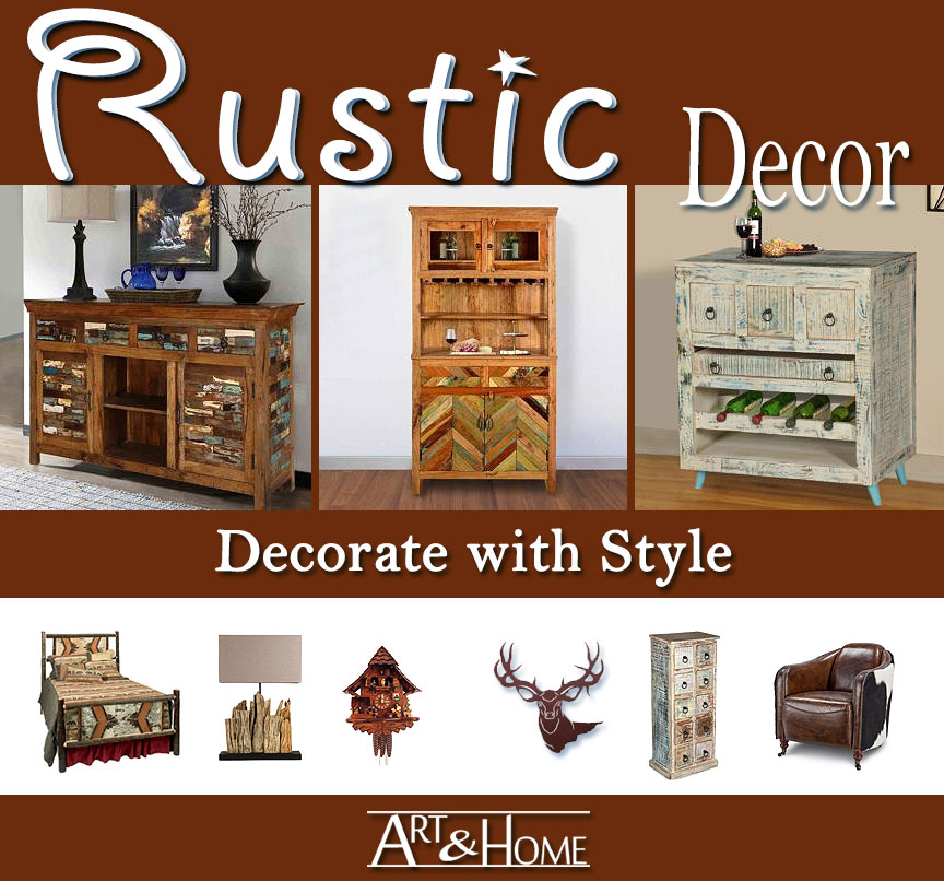Rustic Furniture & Home Decor Accents