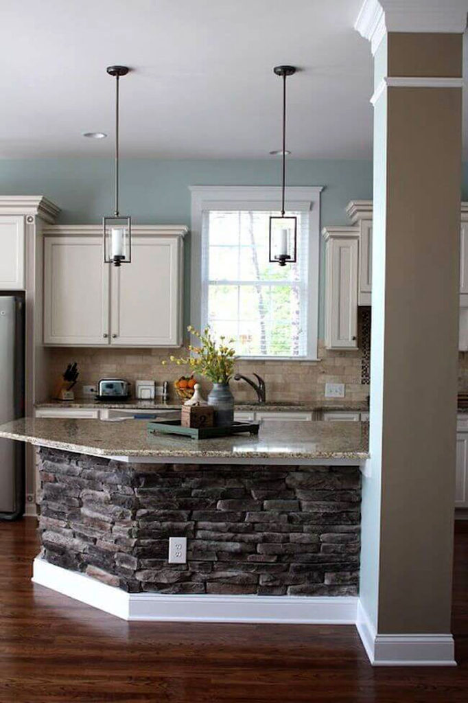 Natural Stone Kitchen Counter