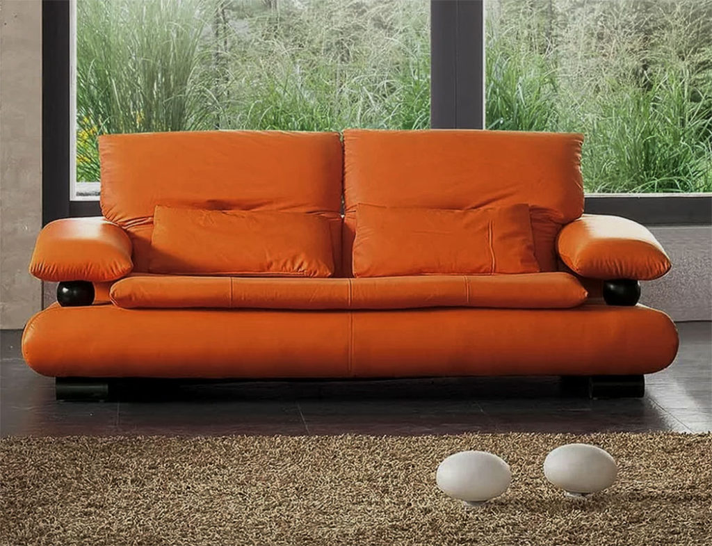 The Pumpkin Spice Latte Loveseat